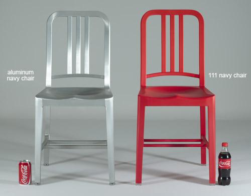 Emeco 111 Navy Chair - hivemodern.c