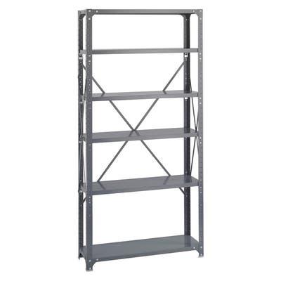 Shop Safco 6-shelf 36-inch Wide x 12-inch Deep x 72-inch High .