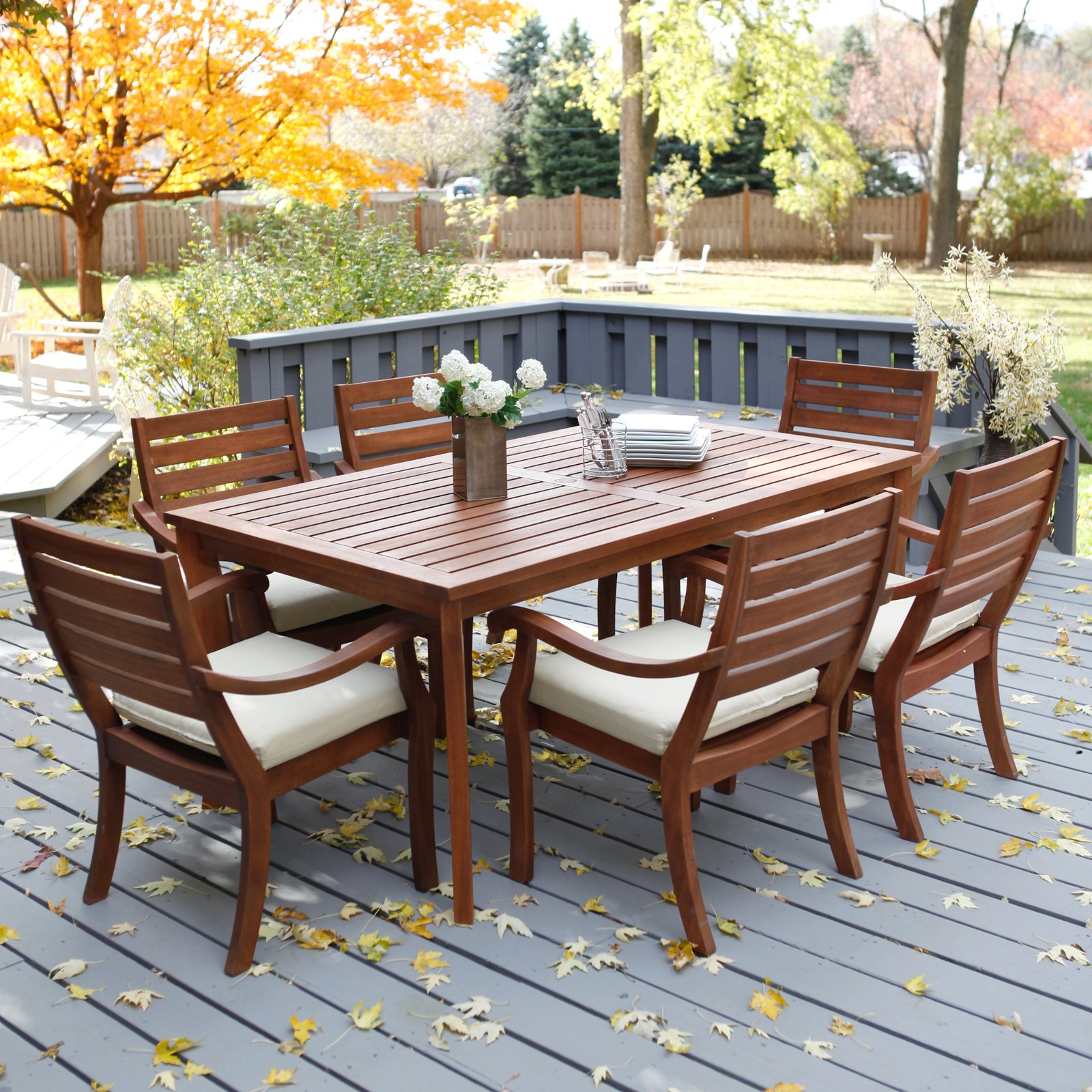 ... brown rectangle modern wooden patio table and chairs clearance  laminated ideas UXIWOOK