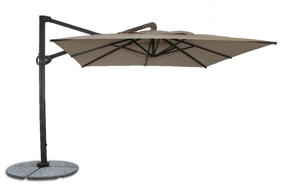 ... buy fiberbuilt 10ft cantilever umbrella with sunbrella fabric ... GIYCPOY