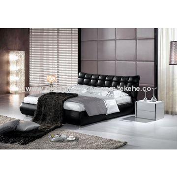 ... china modern home furniture bedroom set soft bed ... HDVNLWI