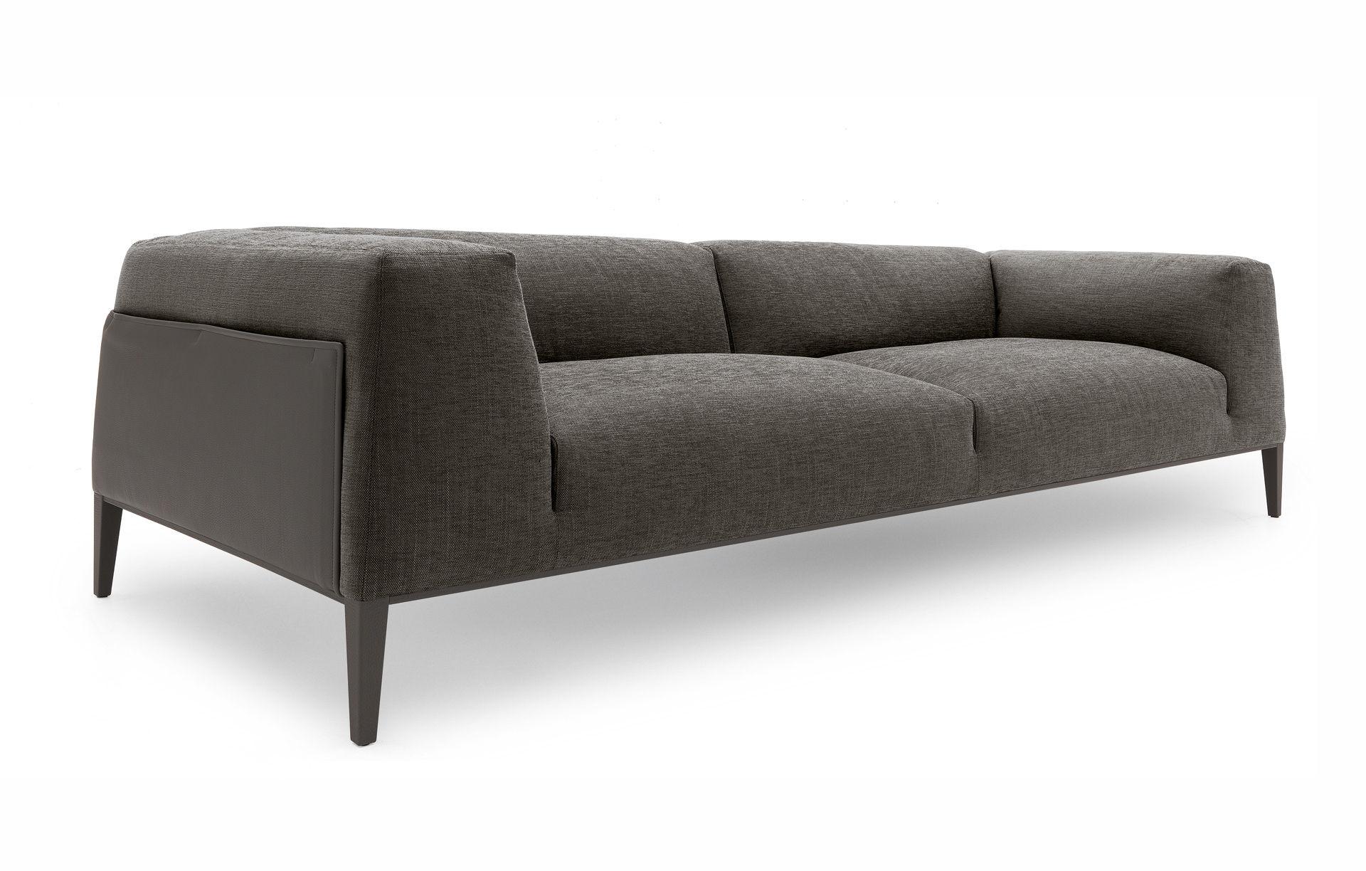 ... contemporary sofa / fabric / leather / by jean-marie massaud  metropolitan WCGVOPT
