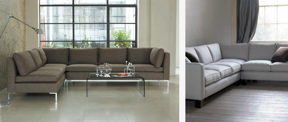 Feature of corner sofas