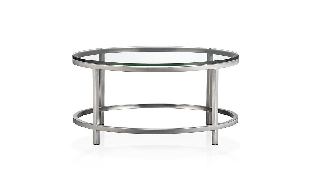 ... era round glass coffee table ... ZUCKGNC