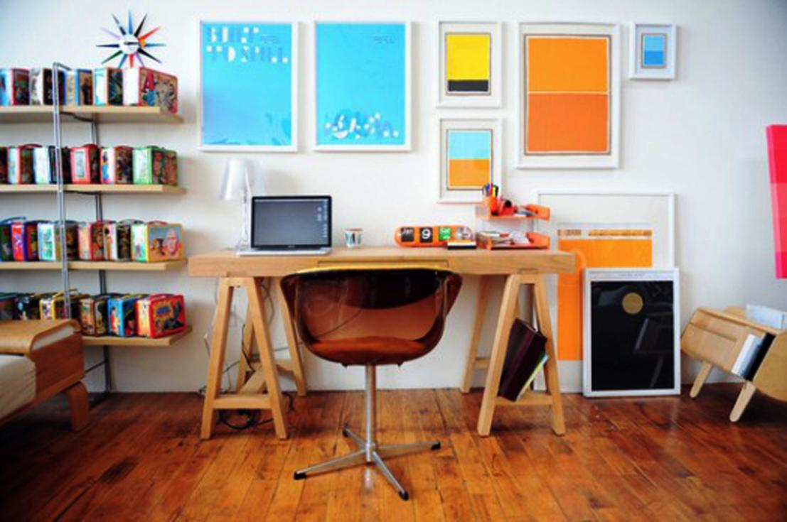 Ideal office decoration, brighten up the space