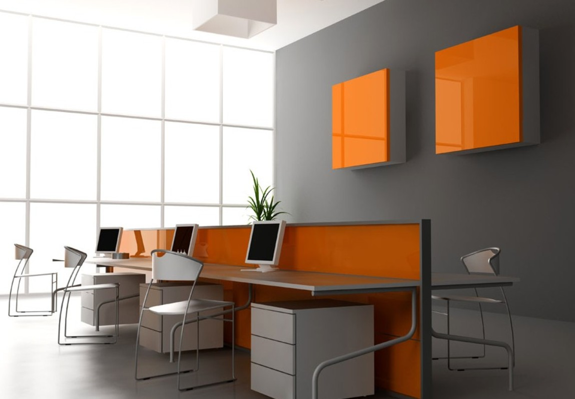 ... free orange decoration for office interior about office decoration OQICFKT