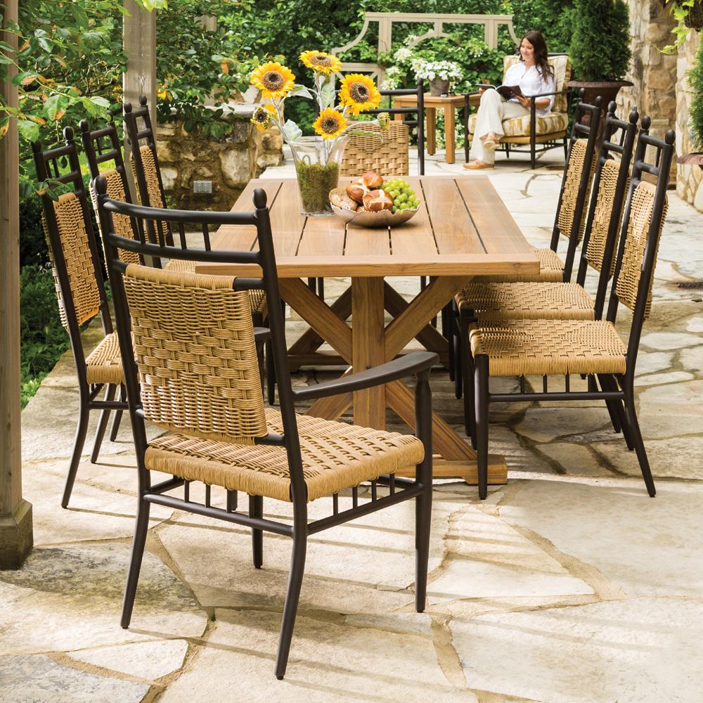 ... lloyd flanders low country 9 piece patio dining set -  lf-lowcountry-set6 FORVOGQ