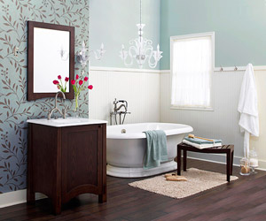 1 bath, 3 ways: a trio of bathroom makeovers IBTHGQK
