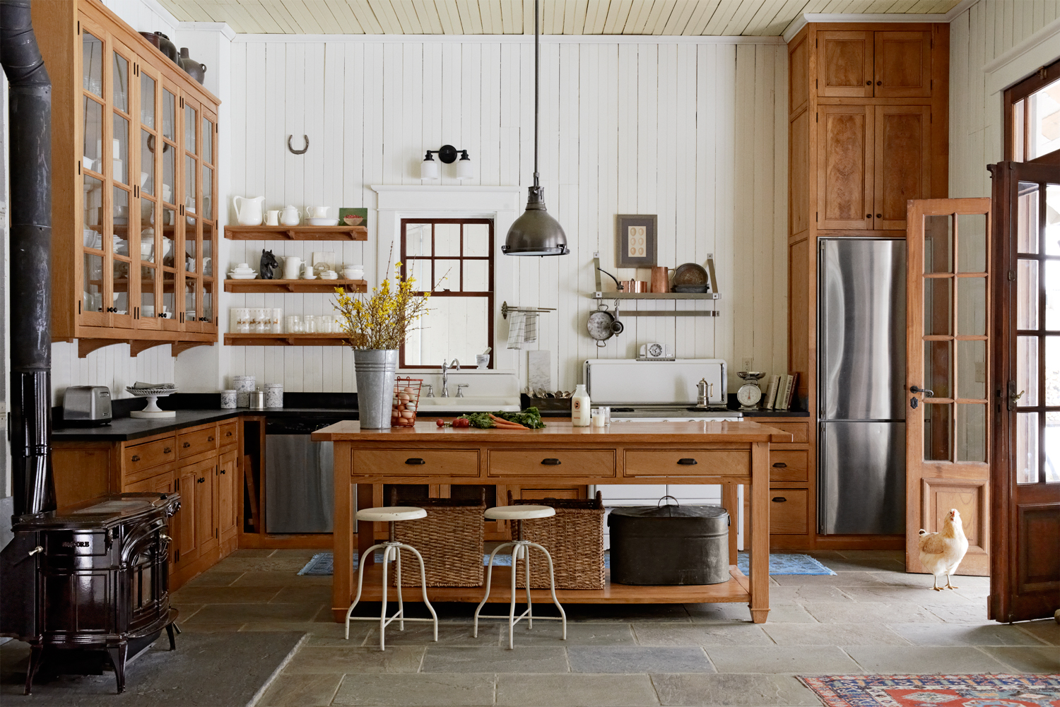 100+ kitchen design ideas - pictures of country kitchen decorating  inspiration JIXFUTR
