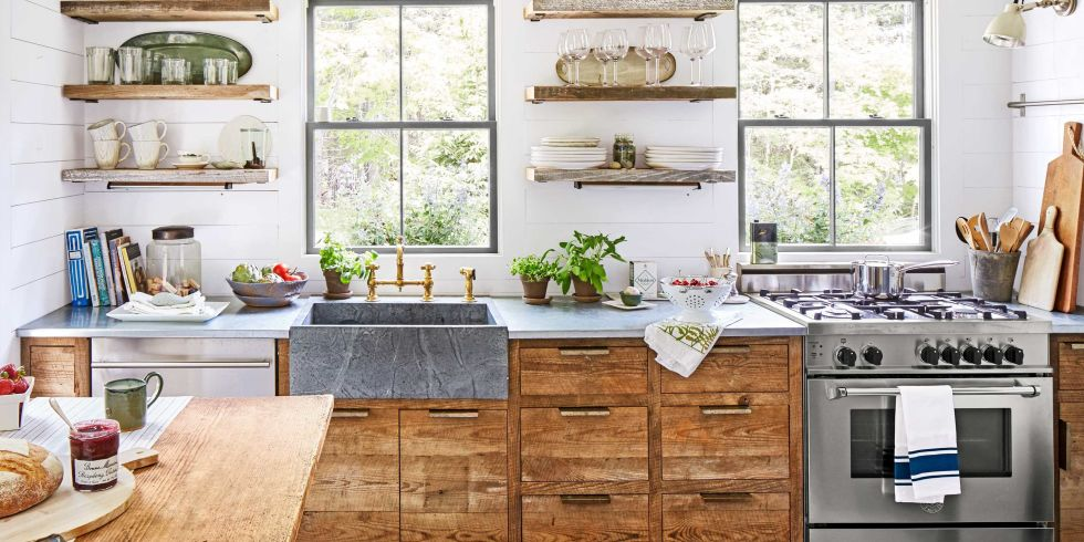 100+ kitchen design ideas - pictures of country kitchen decorating  inspiration ZTPXVFH