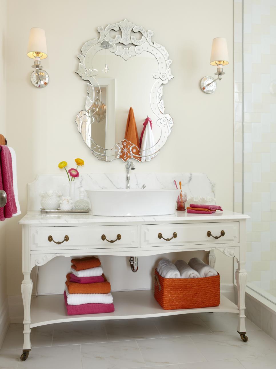 13 dreamy bathroom lighting ideas | hgtv SJLGXJF