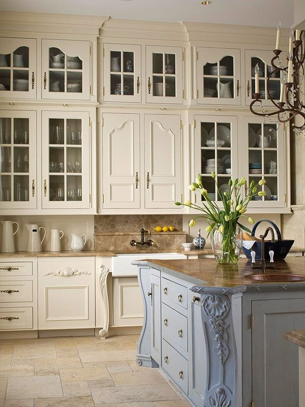 20 ways to create a french country kitchen XSMHWTW