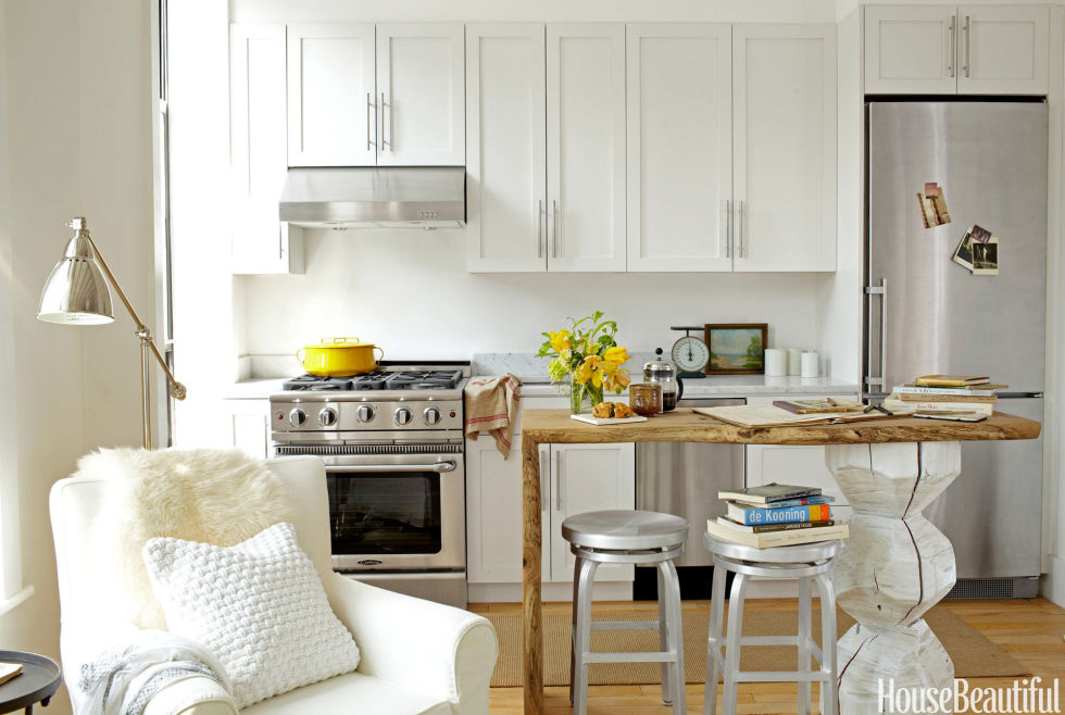 25 best small kitchen design ideas - decorating solutions for small kitchens FUJBQRW