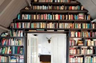 25 creative book storage ideas and home library designs PMOPJZG