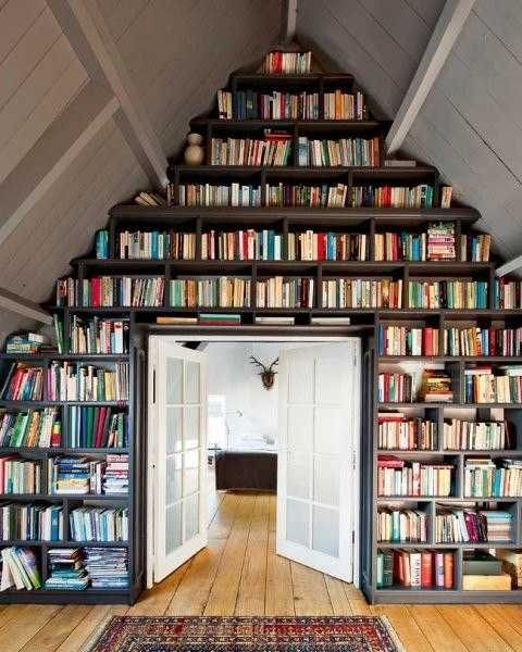 Time to find a place for your books: book storage