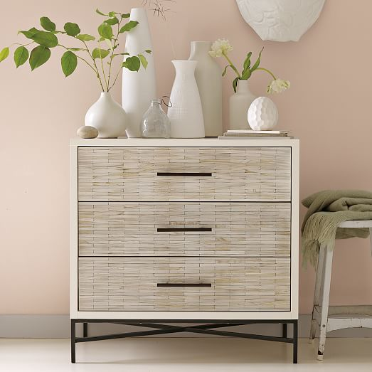 Get organized with 3 drawer dressers