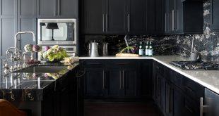30 best black kitchen cabinets - kitchen design ideas with black cupboards FILCIEK