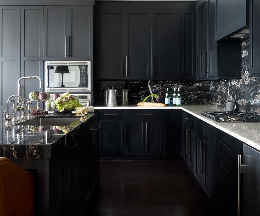 Tips for choosing black kitchen cabinets:
