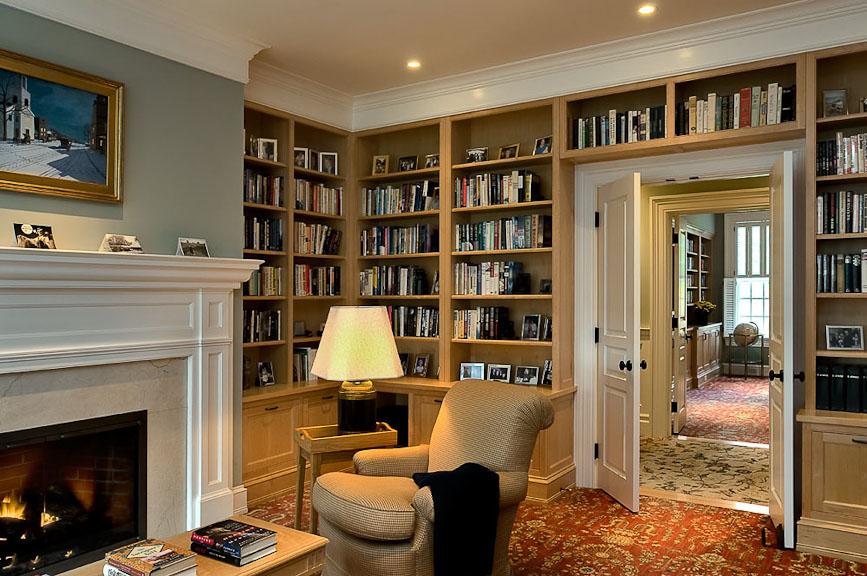 30 classic home library design ideas imposing style - freshome.com DWNQGHT