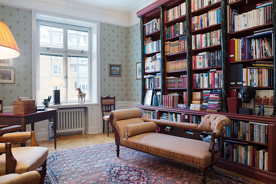 30 classic home library design ideas imposing style - freshome.com XZFJBAC