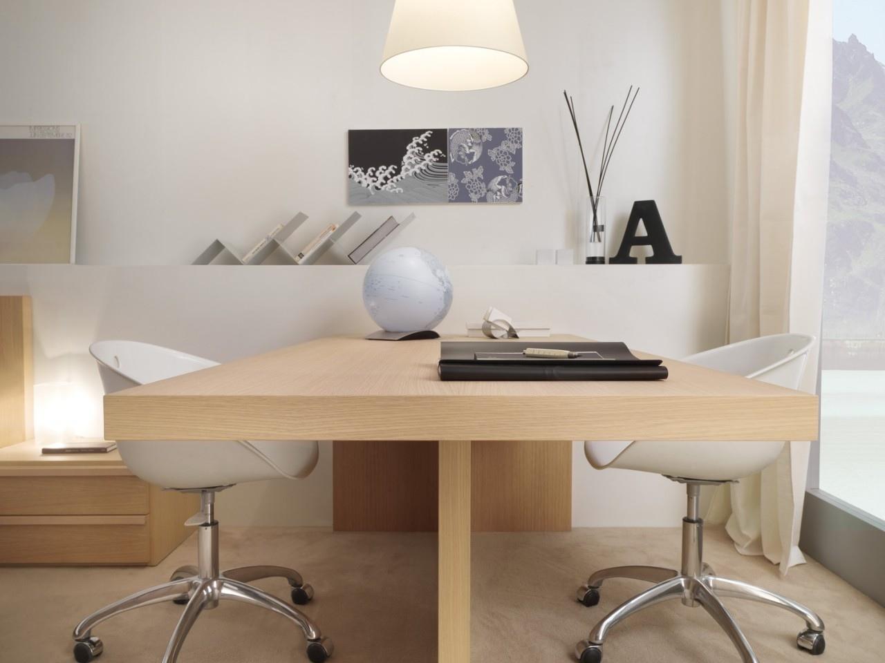 30 inspirational home office desks QEKECKH