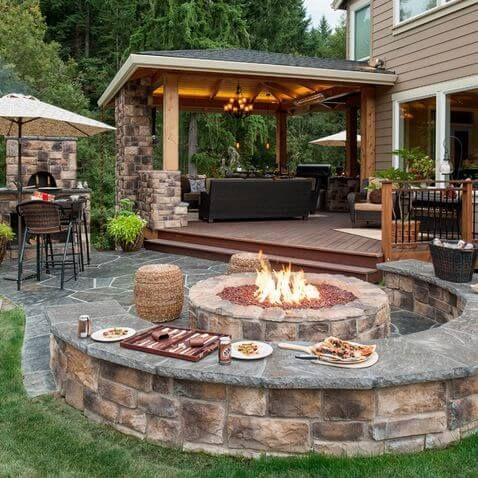 30 patio design ideas for your backyard QHZAVXN