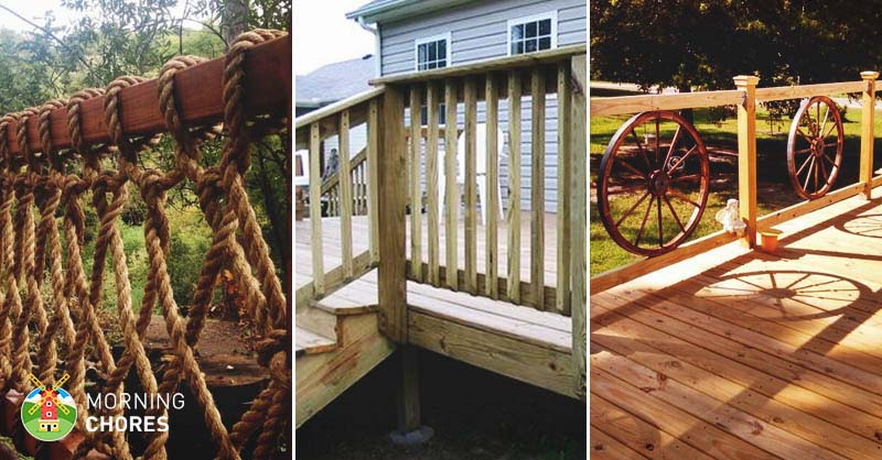 32 diy deck railing ideas u0026 designs that are sure to inspire you IZEVKSA