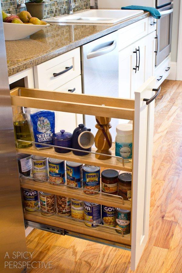 34 insanely smart diy kitchen storage ideas MDQFGIW