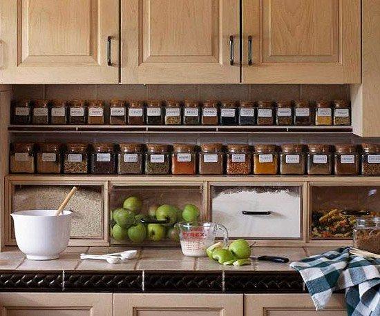 34 insanely smart diy kitchen storage ideas VQYCHTQ