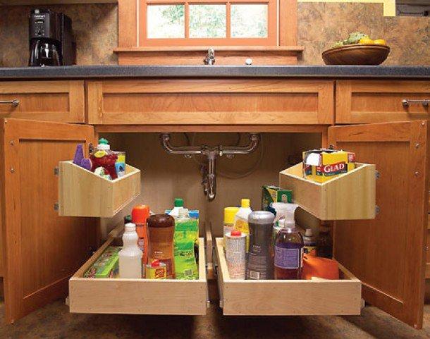 Unique and innovative kitchen storage ideas
