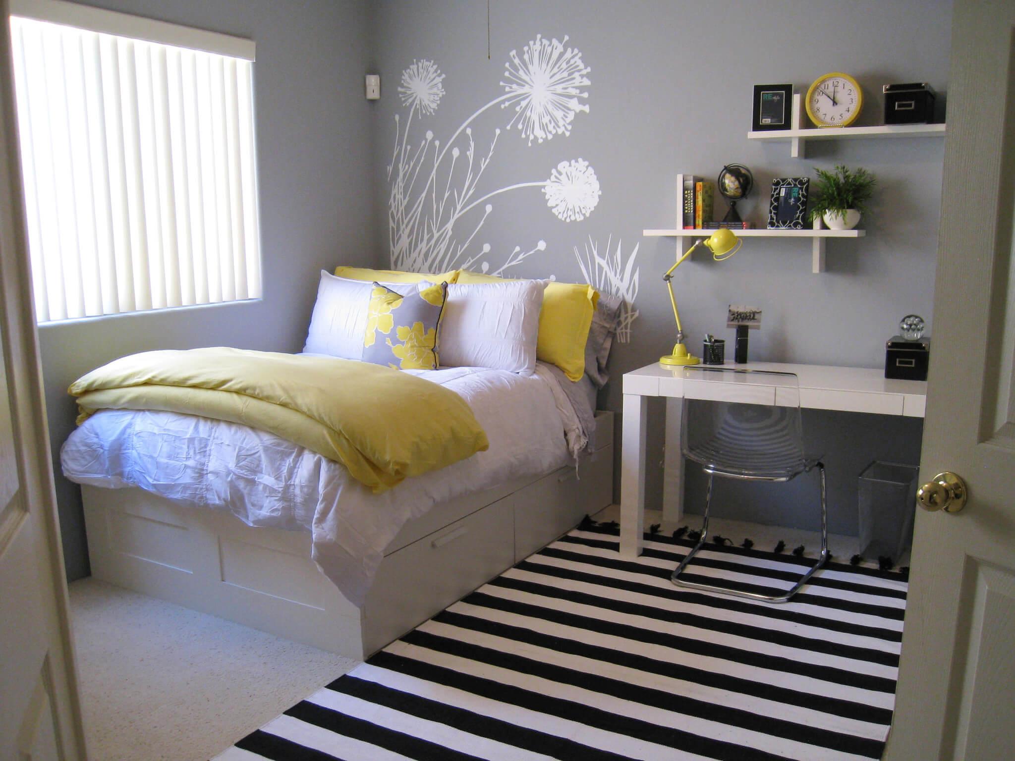 45 inspiring small bedrooms CURSAOX