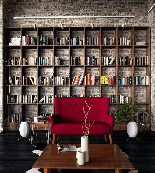 Get hold of the home library design