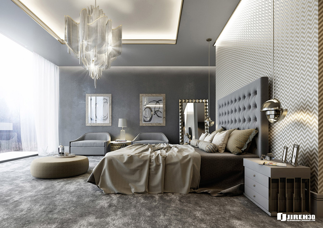 Pinnacle of comfort: luxury bedrooms