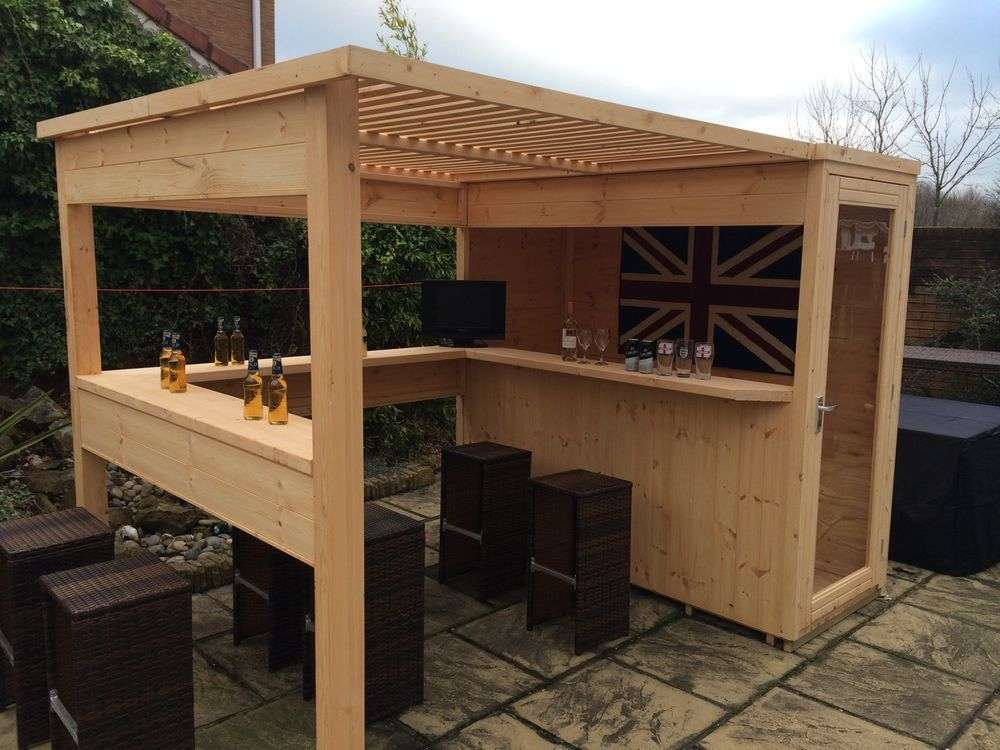80 incredible diy outdoor bar ideas UMBFXAV
