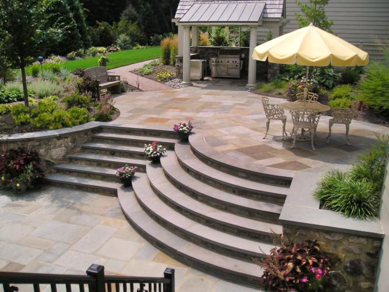 9 patio design ideas YXKWUUO