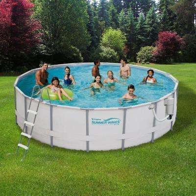above ground pools - pools u0026 pool supplies - the home depot JSEFBHZ