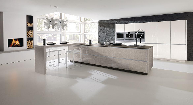 alno kitchens alno art stone glass kitchen VXUHFWX