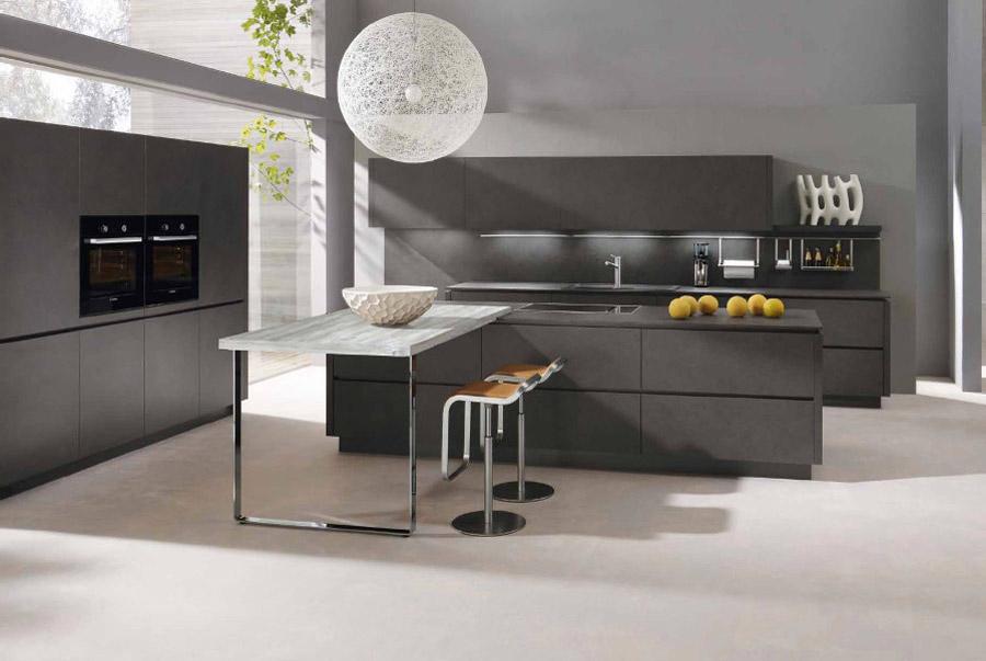 alno kitchens alno kitchen with ball lighting VFBHRDP