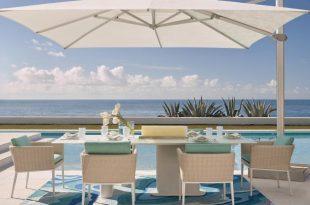 altura square cantilever umbrella by porta forma PPQNSMY