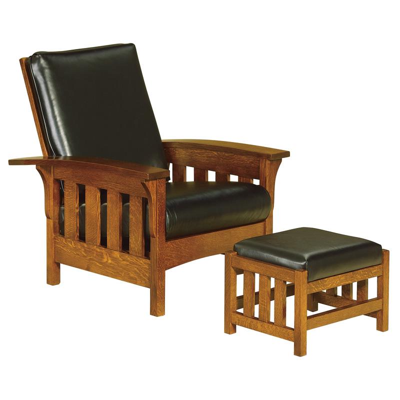 amish bow arm slat morris chair | amish furniture | shipshewana furniture OLFXFTK