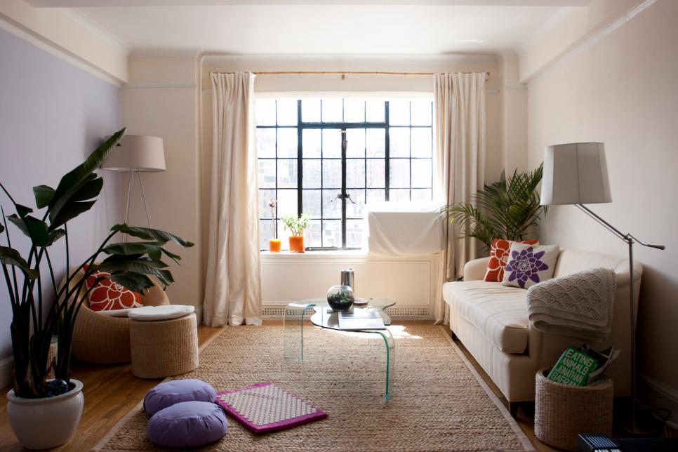 apartment design ideas 10 apartment decorating ideas | hgtv RLDHPAN