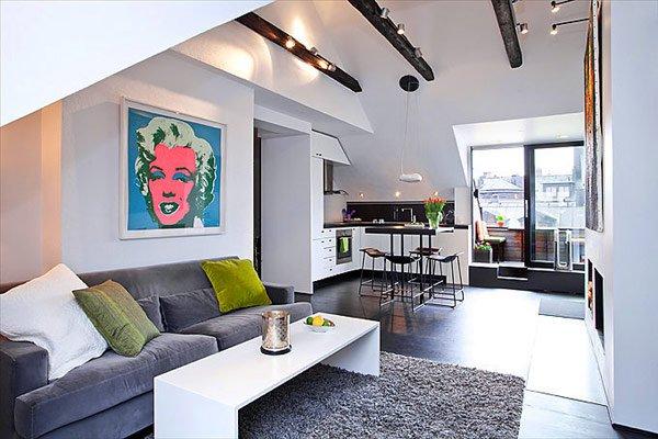 Go for the apartment design ideas