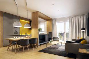 apartment interior design a modern scandinavian inspired apartment with ingenius features VFBKGKP