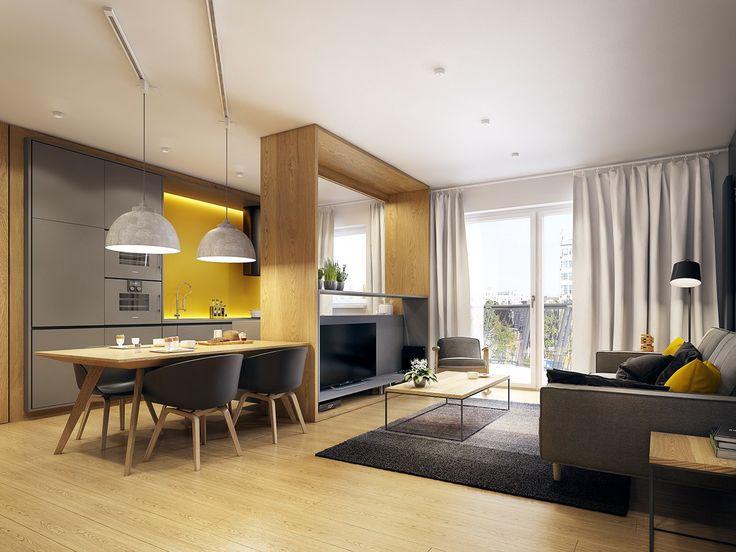 Choosing elegant apartment interior design