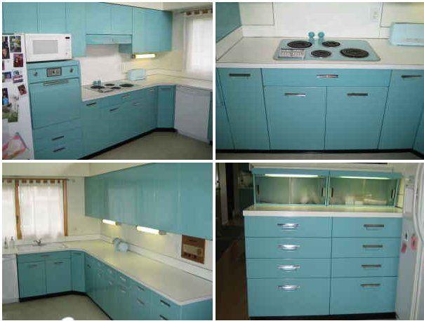 aqua ge metal kitchen cabinets for sale on the forum - michigan DSUZEAR