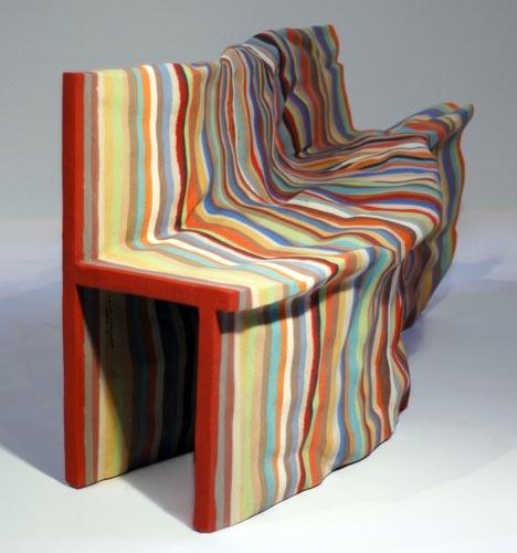 art furniture colorful art chair decor OBUSQQG