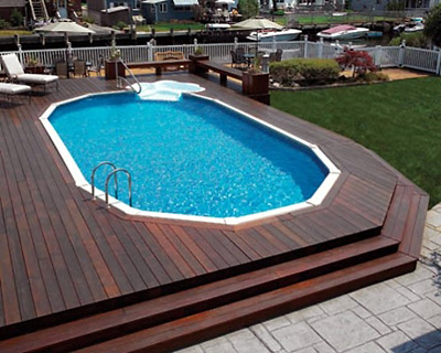 Rejuvenate in your space with above ground pools