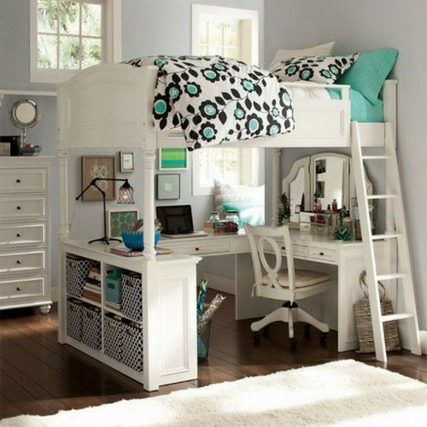 awesome loft beds with desk for teens resized LGIPFMU
