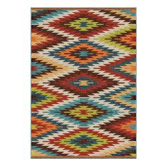 aztec rugs orian rugs - orian rugs indoor/outdoor aztec sedona multi area rug, 7u0027 JEOVODD