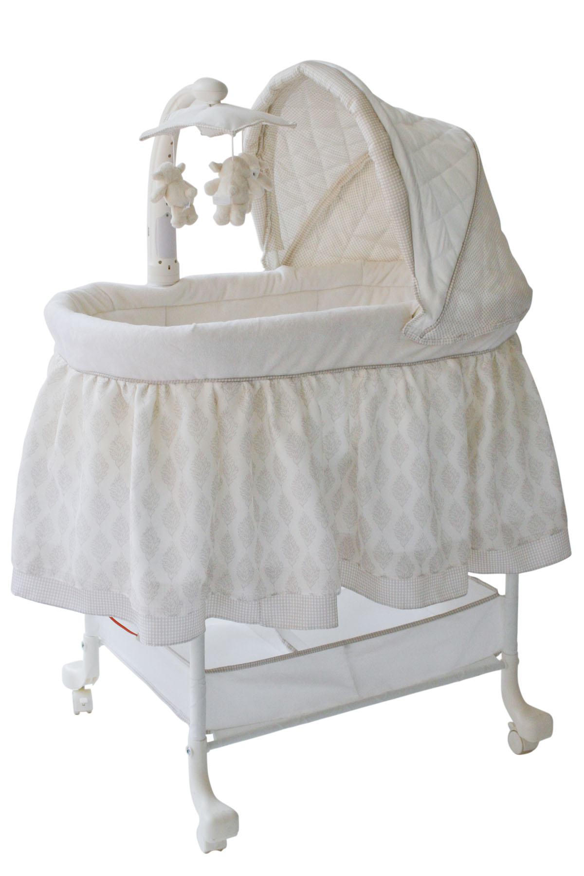 baby bassinet delta children gliding bassinet OBSHYZF